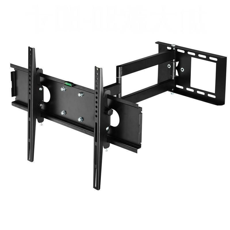 Universal Full Motion Tv Wall Mount Retractable Tv Bracket For 23 Pertaining To Most Popular Plasma Tv Holders (View 12 of 20)