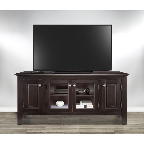"Valencia 60 Inch Tv Stands For Well Known Insignia 60"" Tv Stand – Dark Espresso : Tv Stands – Best Buy Canada (View 16 of 20)"