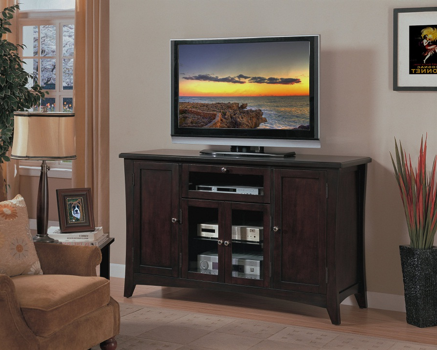 Very Tall Tv Stands Inside Most Popular Tall Tv Stand For Bedroom: Perfect In Limited Space! — Home Decor (View 18 of 20)