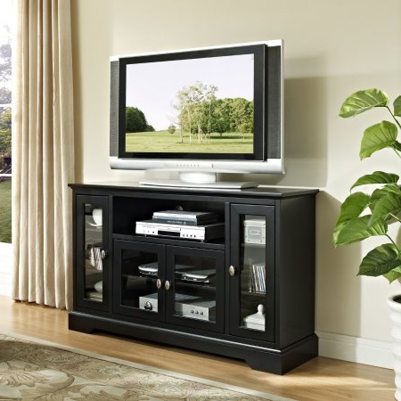 Very Tall Tv Stands Intended For Well Liked Tall Tv Cabinet: 7 Beautiful Tall Tv Stands – Tv Stands Central (View 2 of 20)