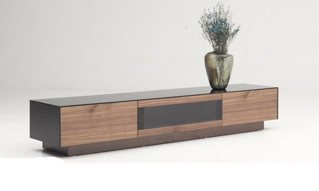 Vig Furniture Vghb215F Wal Modrest Darius Modern Walnut Tv Stand With Recent Modern Walnut Tv Stands (View 1 of 20)