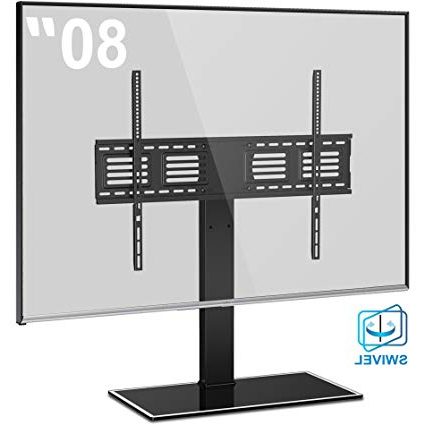 Vizio 24 Inch Tv Stands In Preferred Fitueyes Universal Tv Stand With Swivel Mount Height Adjustable For (View 14 of 20)