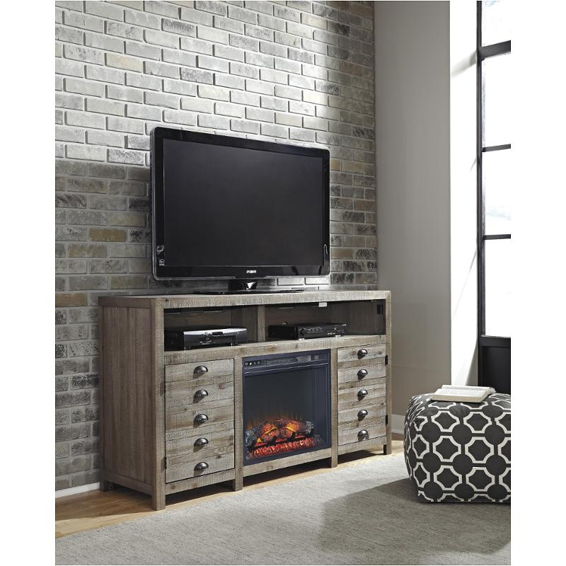 W678 38 Ashley Furniture Tv Stand With Fireplace Option Pertaining To Fashionable Tv Stands 38 Inches Wide (View 18 of 20)