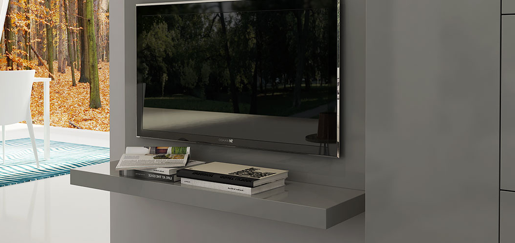 Wall Mounted Tv Cabinet Design  Oppeinhome (View 18 of 20)