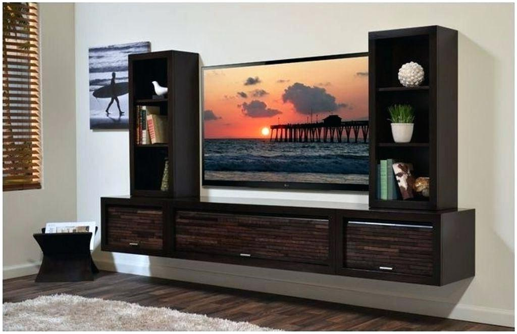 Wall Mounted Tv Cabinet With Doors Best Ideas Wall Mounted Cabinets With Famous Wall Mounted Tv Cabinets For Flat Screens With Doors (Gallery 18 of 20)