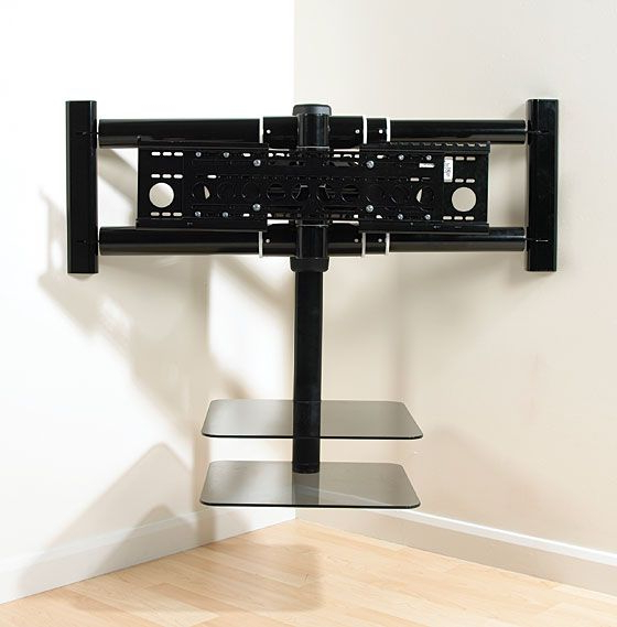 Wall Mounted Tv Regarding Tv Stands With Mount (View 15 of 20)