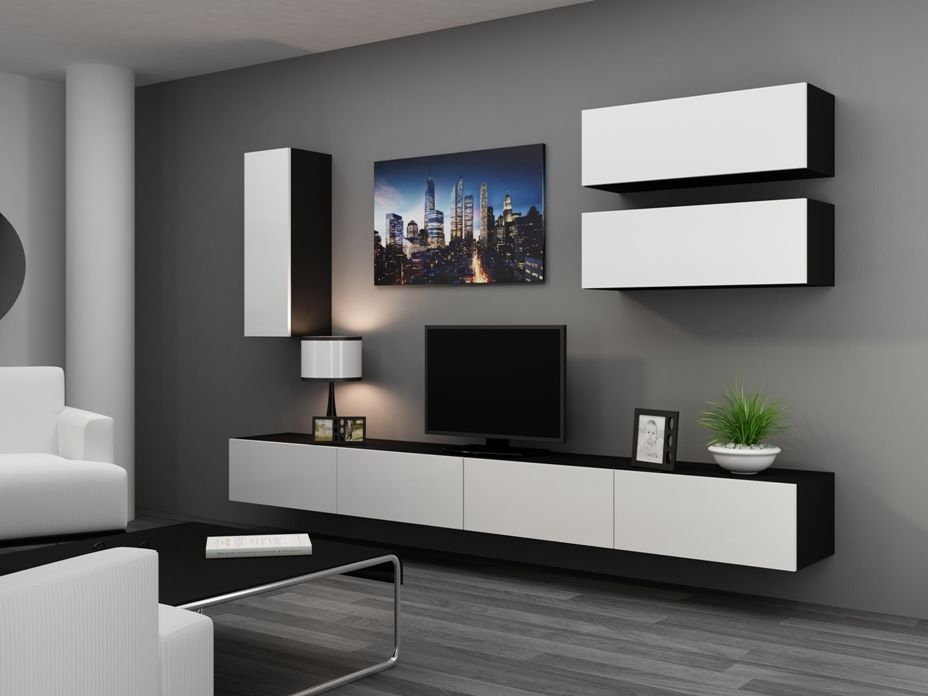 Wall Units: Outstanding Tv Stand Wall Unit Entertainment Center Wall For Newest Tv Stand Wall Units (Gallery 14 of 20)
