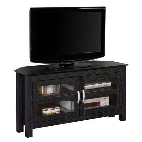 Walmart Regarding Most Popular Wooden Corner Tv Cabinets (View 15 of 20)