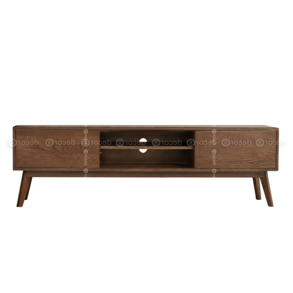 Walnut Tv Cabinets With Doors Throughout Most Recent Modern Design Tv Stand – Kobe Walnut Tv Cabinet And Media Console (View 18 of 20)