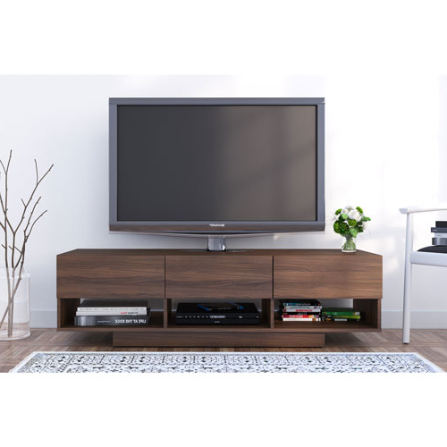 "Walnut Tv Stands Intended For Most Recent Nexera Rustik 66"" Tv Stand – Walnut : Tv Stands – Best Buy Canada (View 5 of 20)"