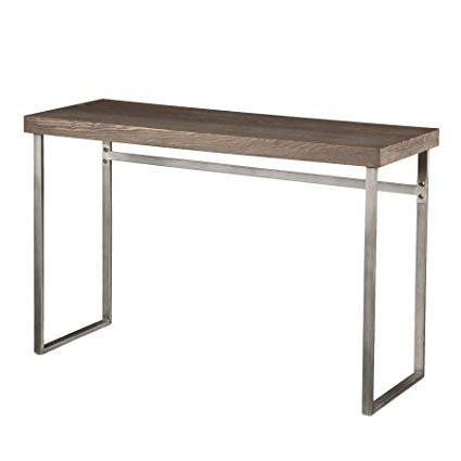 Walters Media Console Tables Throughout 2017 Amazon: Southern Enterprises Nolan Console Table In Weathered (Gallery 20 of 20)