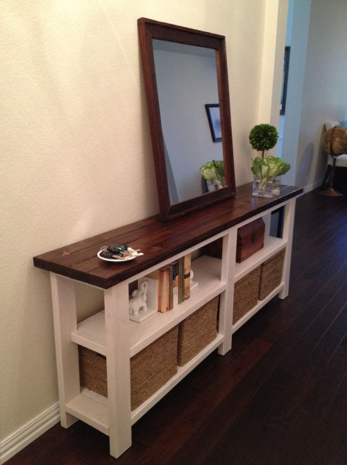 Walters Media Console Tables Within Favorite Rustic Chic Console Table (View 20 of 20)