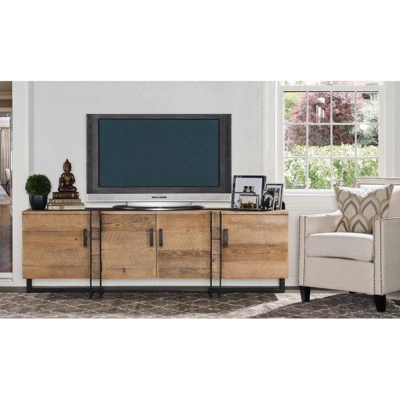 "Walton 74 Inch Open Tv Stands Intended For Newest 17 Stories Walton Tv Stand For Tvs Up To 78"" & Reviews (View 17 of 20)"