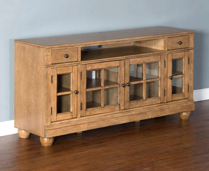 Walton 74 Inch Open Tv Stands Regarding Widely Used 74 Tv Console Harbor View Linen Entertainment Wall With Console (View 18 of 20)