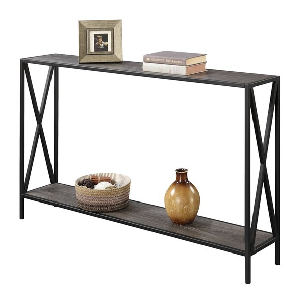 Wayfair.ca Throughout Fashionable Mix Patina Metal Frame Console Tables (Gallery 14 of 20)