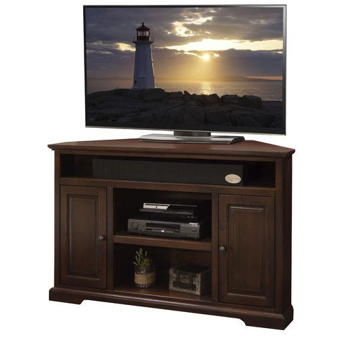 "Wayfair Corner Tv Stands Inside Most Popular Legends Furniture Brentwood 56"" Corner Tv Stand (View 5 of 20)"