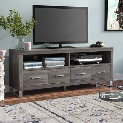 Wayfair Pertaining To Popular Edwin Grey 64 Inch Tv Stands (View 14 of 20)