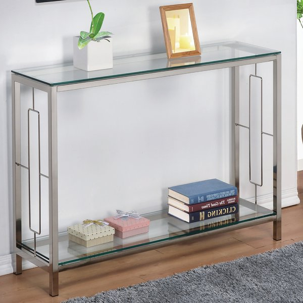 Wayfair With Regard To Most Up To Date Layered Wood Small Square Console Tables (View 19 of 20)