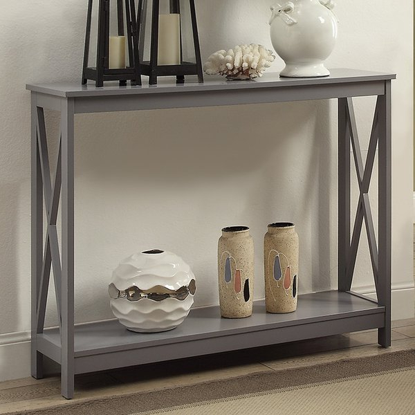 Wayfair With Regard To Trendy Mix Patina Metal Frame Console Tables (View 18 of 20)
