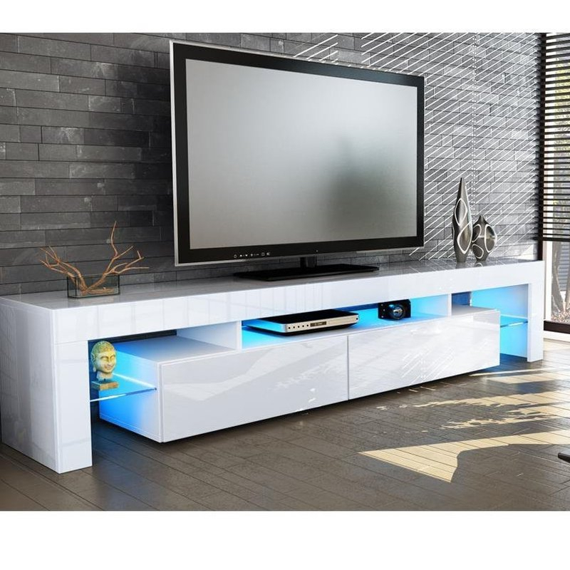 Wayfair With Regard To Tv Stands With Led Lights (View 17 of 20)