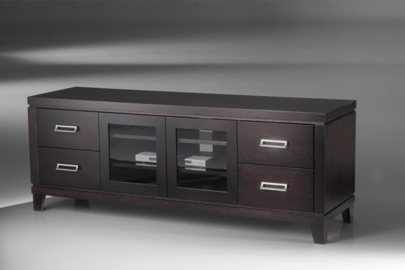 "Well Known 70"" Transitional Tv Stand, Media Console For Flat Screen And Audio Intended For Tv Stands For 70 Flat Screen (View 19 of 20)"