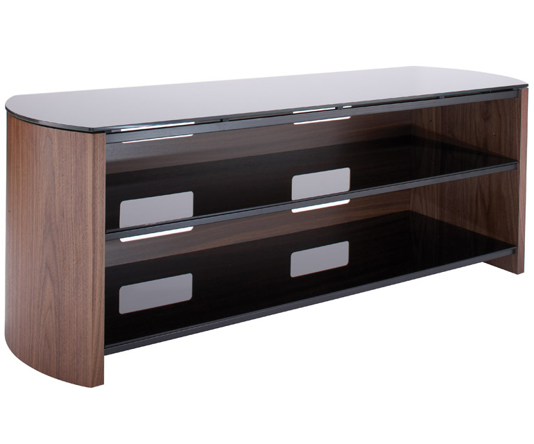 Well Known Alphason Finewoods Fw1350 Walnut Tv Stand – Alphason – Audiovisual Intended For Walnut Tv Cabinets (View 18 of 20)
