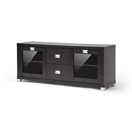 Well Known Amazon: Baxton Studio Foley Modern Tv Stand With Drawers And Within Tv Stands With Drawers And Shelves (View 19 of 20)