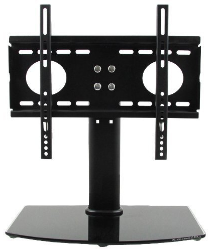 Well Known Amazon: Shopjimmy Universal Tv Stand / Base + Wall Mount For 26 In Universal Flat Screen Tv Stands (Gallery 1 of 20)