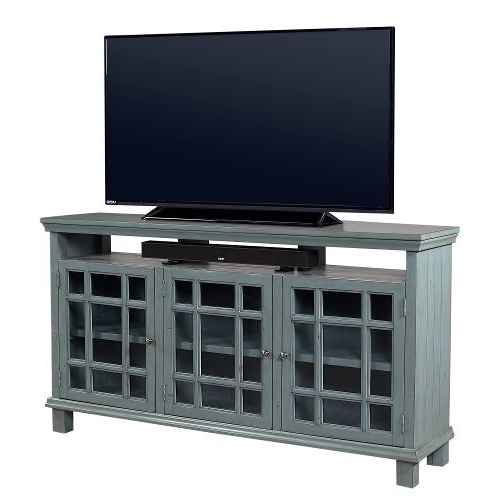 Well Known Blue Tv Stands Within 65 Inch Slate Blue Tv Stand – Preferences (View 20 of 20)