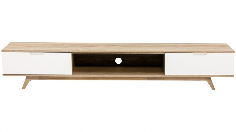Well Known Cheap Lowline Tv Units Intended For Buy Tauris Nova 2000Mm Lowline Tv Cabinet – Oak (View 20 of 20)