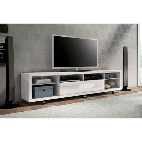 Well Known Cheap White Tv Stands Regarding White Tv Stands And Cabinets Free Shipping (Gallery 13 of 20)