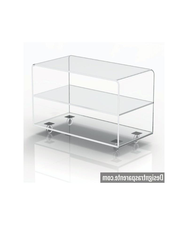 Well Known Clear Acrylic Tv Stands Intended For Acrylic Tv Stand Clear Acrylic Stand Acrylic Tv Stands Risers (View 19 of 20)