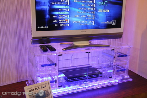 Well Known Clear Acrylic Tv Stands Pertaining To Clear Acrylic Tv Stand  Craziest Gadgets (View 18 of 20)