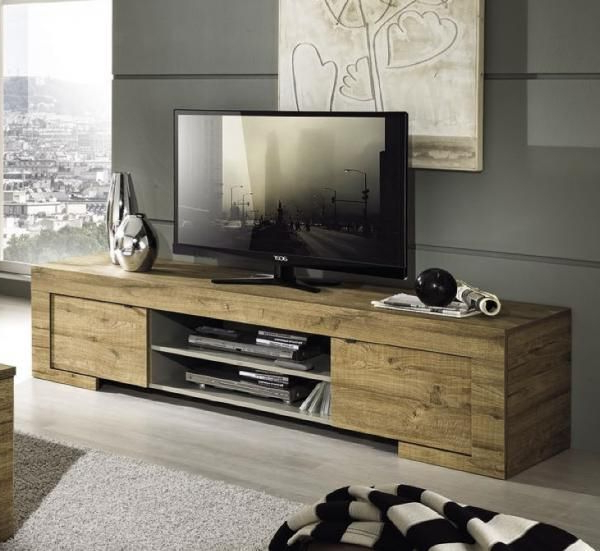 Well Known Contemporary Oak Tv Cabinets With Asti, Modern Honey Oak Tv Cabinet (View 20 of 20)