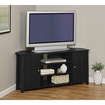 Well Known Cordoba Tv Stands Pertaining To Corner Tv Stand Within Amazon Com We Furniture 44 Cordoba Tv Console (View 18 of 20)