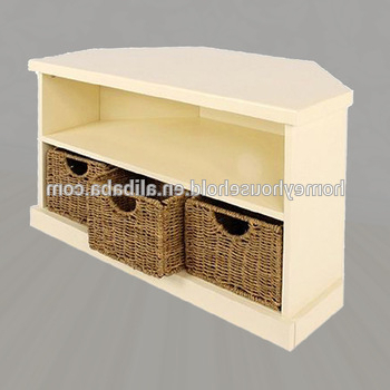 Well Known Corner Tv Cabinets Shabby Chic Furniture Cream Painted Media Stands In Cream Tv Cabinets (View 20 of 20)