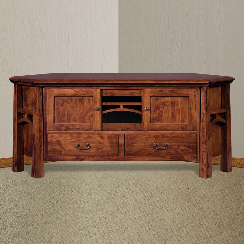 Well Known Corner Tv Stands For 60 Inch Tv Intended For Artesa Corner Tv Stand With Drawers (View 19 of 20)
