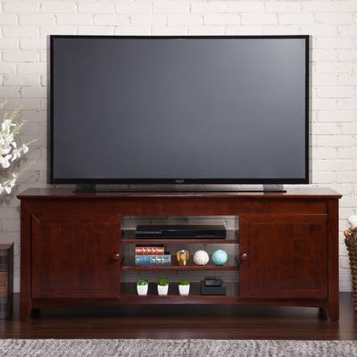 "Well Known Darby Home Co Flintwood Tv Stand For Tvs Up To 55"" With Fireplace Intended For Wyatt 68 Inch Tv Stands (View 14 of 20)"