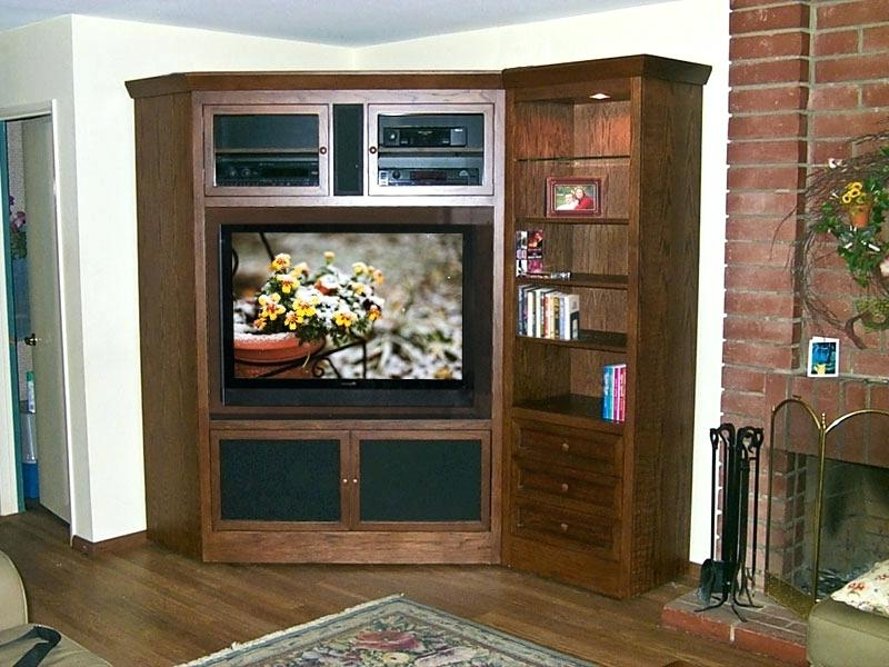 Well Known Fancy Tv Cabinets Throughout Inspiring Tv Corner Stands And Cabinets Tv Corner Cabinet Corner Tv (View 20 of 20)
