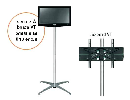 Well Known Floor Mount Stand Floor Standing Mount Design Impressive Free Intended For Freestanding Tv Stands (View 8 of 20)