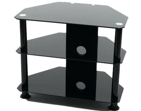 Well Known Iconic Tv Stands With Regard To Fred Meyer Tv Stands Iconic Black Glass Universal Stand For S Up To (View 18 of 20)