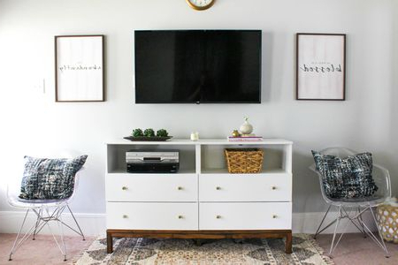 Well Known Ikea Tv Console Tables Throughout 7 Ways To Make Your Own Tv Stand To Hide Ugly Cable Boxes And Wires (Gallery 17 of 20)