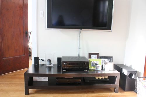 Well Known Ikea Tv Console Tables Throughout Tv Console Table Refreshed {Ahhh} (Gallery 10 of 20)