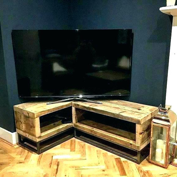 Well Known Low Corner Tv Stands Regarding Corner Units Tv Stand Gray – Impexmarine (View 20 of 20)