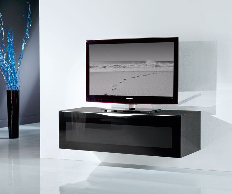 Well Known Luxury Tv Stands Intended For Black Glass Tv Stand #tv #furniture #luxury #design (View 13 of 20)