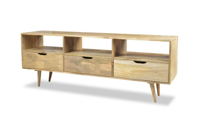Well Known Mango Tv Stands Pertaining To Light Retro Mango Tv Stand (View 11 of 20)