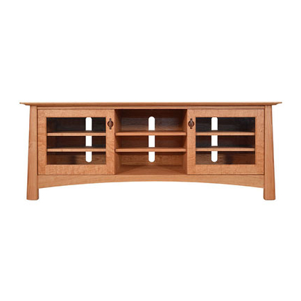 Well Known Mission Craftsman Maple Wood Tv Stands & Media Consoles – Vermont Inside Maple Wood Tv Stands (View 7 of 20)