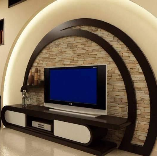 Well Known Modern Lcd Tv Cases Inside 13 Ideas About Modern Tv Wall Units To Impress You (View 18 of 20)