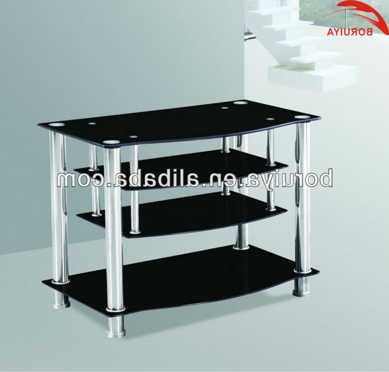Well Known Modern Living Room Tv Stand Showcase With Tempered Glass – Buy In Modern Glass Tv Stands (View 20 of 20)