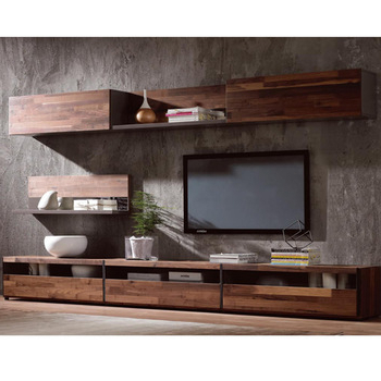 Well Known Modern Simple Tv Stand,walnut Wood Veneer Tv Cabinet – Buy Tv Stand With Regard To Tv Cabinets (View 2 of 20)